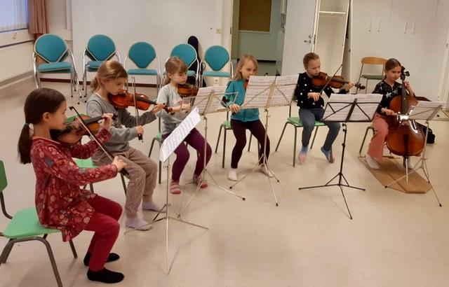 Lasten soittoryhmä